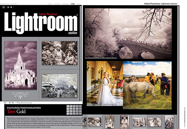 Photoshop User Magazine  Lightroom Featured Photographer