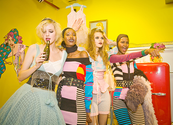 Betsey Johnson's Show on 2/09 #1