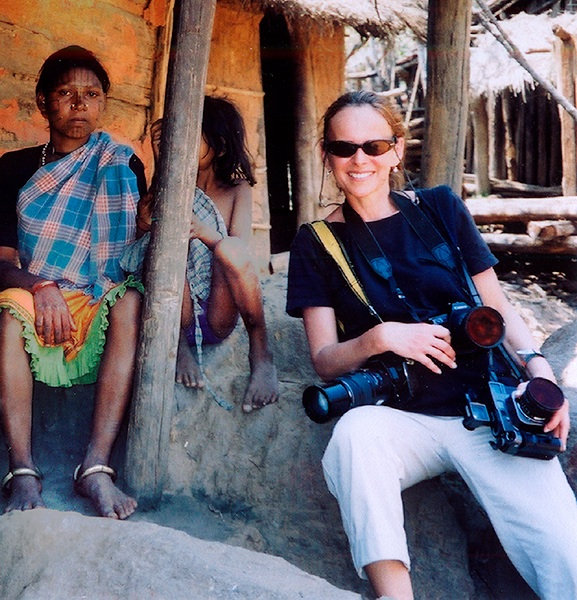 Terri Gold in India