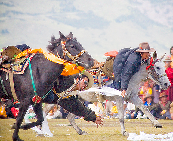 Racing For the Kata at Litang Festival 2005