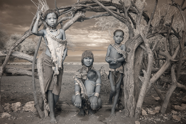Hamar Family in the Omo