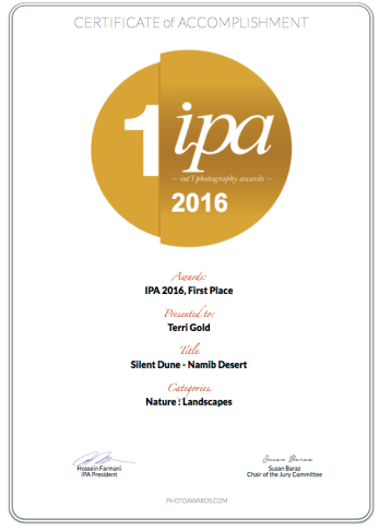 IPA Awards 2016